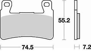 тормозные колодки на honda cbr600f4i