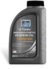 Bel-Ray V-Twin Semi-Syn Eng Oil 20W-50