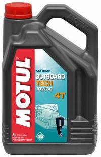 Моторное масло MOTUL OUTBOARD TECH 4T SAE 10W30