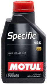Моторное масло MOTUL SPECIFIC 913D 5W-30